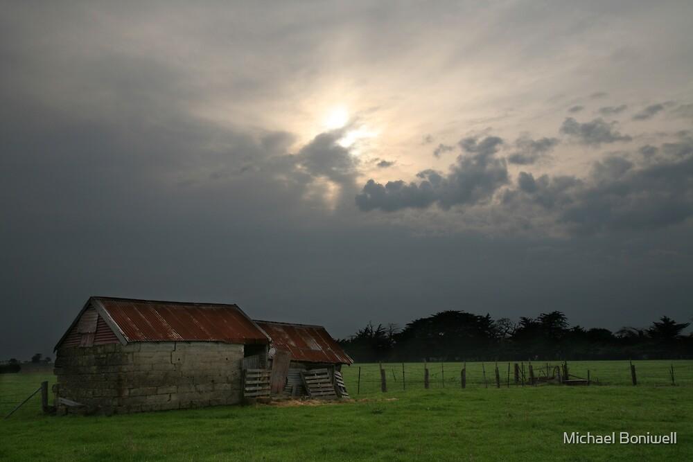 Rural Scene, Warrnambool, Australia, Landscape by Michael Boniwell