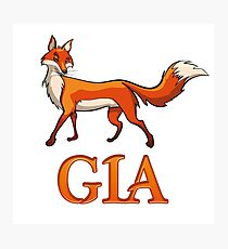 Gia Fox Photographic Print