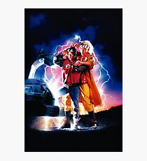 Back to the Future 2 Photographic Print
