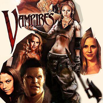 Buffy and vampires by Bulotin