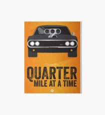 Lámina de exposición Serie Cinema Obscura - The Fast & the Furious - Cuarto de Milla
