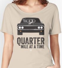 Cinema Obscura Series - The Fast & the Furious - Quarter Mile Women's Relaxed Fit T-Shirt