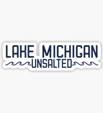 Lake Michigan (navy) Sticker