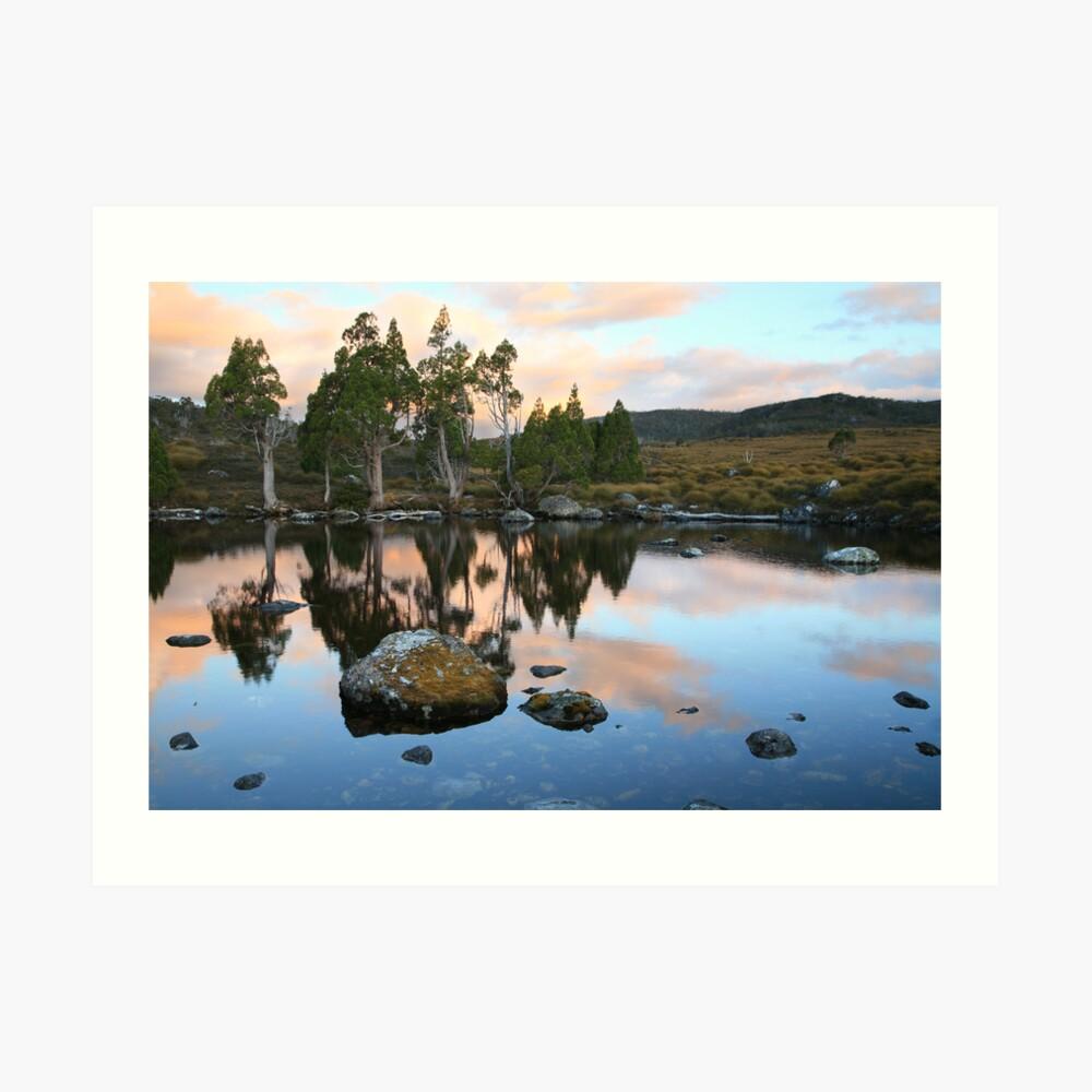 Tarn Reflections, Cradle Mountain National Park, Australia Art Print