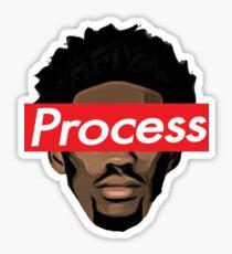 Joel Embiid 76ers Sixers Proces Sticker