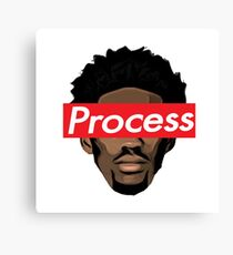 Joel Embiid 76ers Sixers Proces Canvas Print