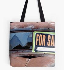 on the side of the road. . .  Tote Bag