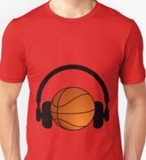 Basket and music Unisex T-Shirt