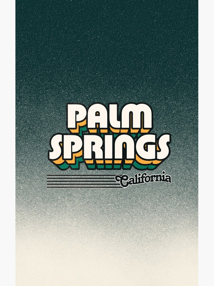 Palm Springs, California | Retro Stripes by retroready