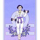 Libra Jiu Jitsu Player by tpascal7