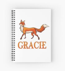 Gracie Fox Spiral Notebook