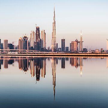 Dubai skyline and Skyscrapers, UAE by stedata