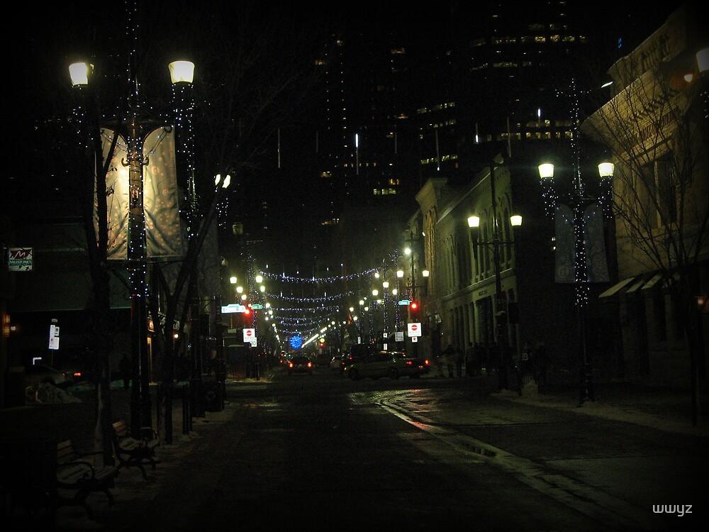 New Years Eve Streetscene by wwyz