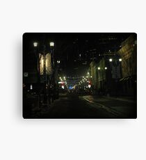 New Years Eve Streetscene Canvas Print