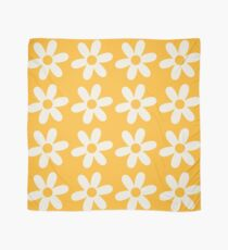 Two-Tone Daisy Pattern Scarf