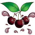 Juicy Cherries by Michelle Bocklage