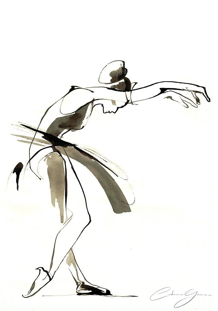 Dance Drawing by CatarinaGarcia