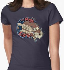 The Magic Catbus Women's Fitted T-Shirt