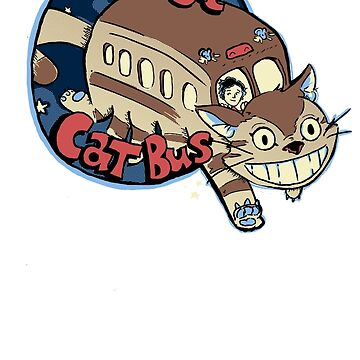 The Magic Catbus by JKTees