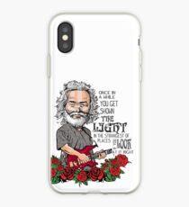 Jerry Garcia Scarlet Begonias  iPhone Case