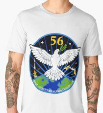 ISS Expedition 56 Flight Crew Patch Men's Premium T-Shirt