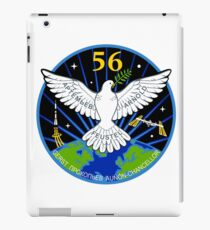ISS Expedition 56 Flight Crew Patch iPad Case/Skin