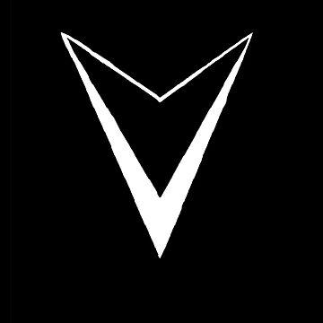 Massive Vitality Logo (White)  by Garrettj1091