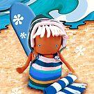 CHUNKIE Surfer by © Karin Taylor