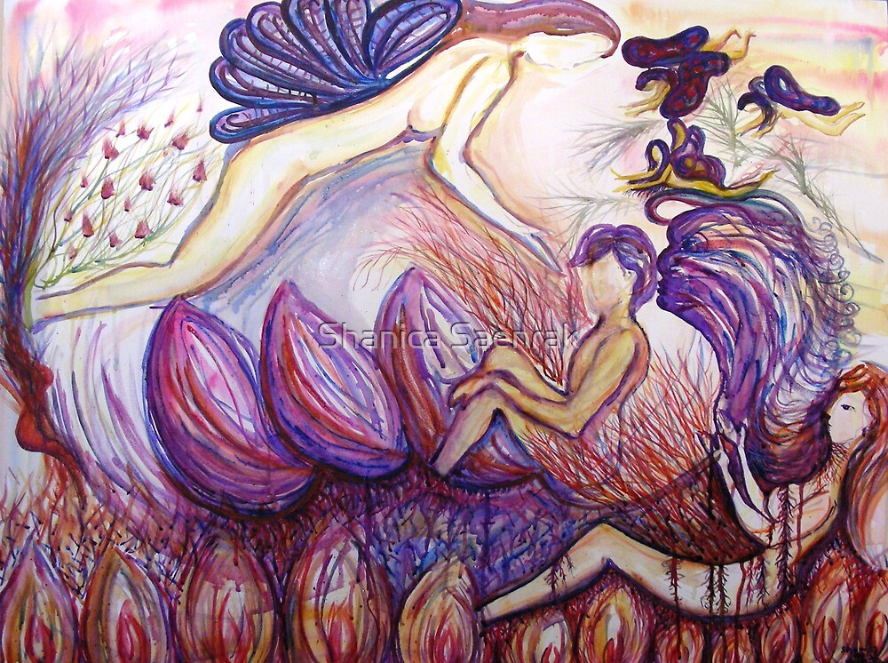 "Story of the ""Man"" – Nurturer - Destroyer by Shanica Saenrak"