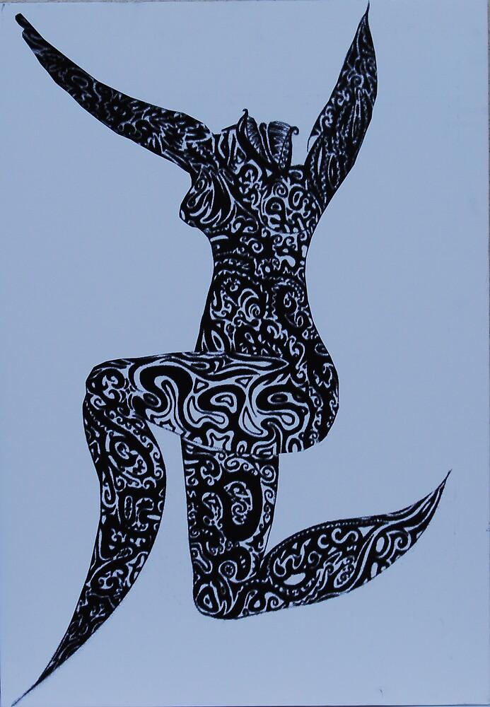 Tatoo woman by Ebla