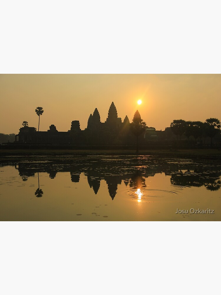 Angkor Wat Temple sunrise by Joshollywood
