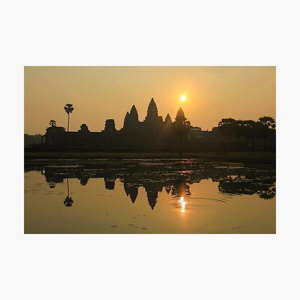 Angkor Wat Temple sunrise Photographic Print