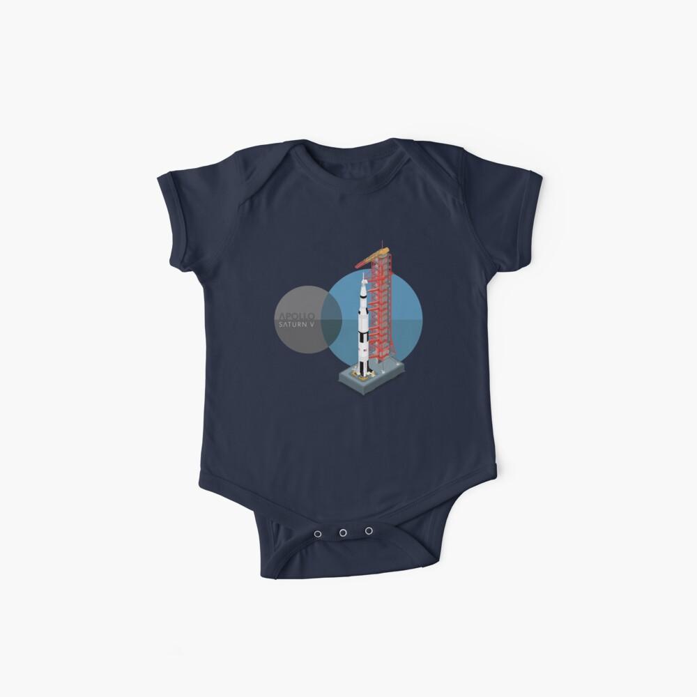 Saturno V Bodies para bebé