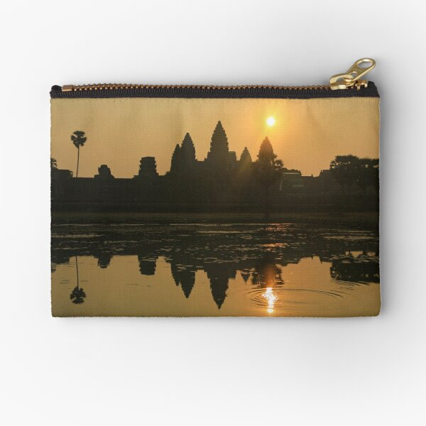 Angkor Wat Temple sunrise Zipper Pouch