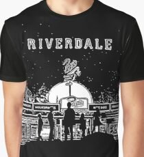 Riverdale Black And White Pop's Chock'lit Shoppe Graphic T-Shirt