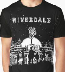 Riverdale - Schwarzweißer Pop - Chock'lit Shoppe Grafik T-Shirt