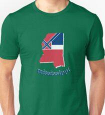 mississippi state flag Unisex T-Shirt