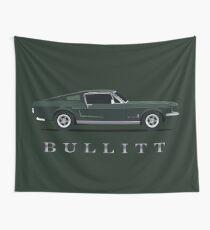 Mustang Bullitt Wall Tapestry