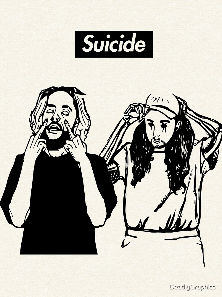 SuicideBoyS Art Outlines $uicideboy$ by DeadlyGraphics