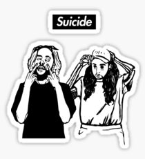 SuicideBoyS Art Outlines $uicideboy$ Sticker