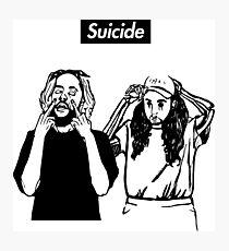 SuicideBoyS Art Outlines $uicideboy$ Photographic Print