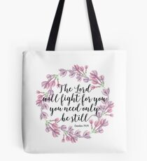 Christian Quote Tote Bag