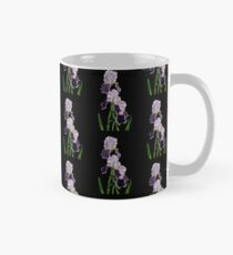 Purple Bearded Irises  Mug