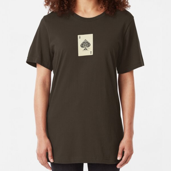 Ace of spades Slim Fit T-Shirt