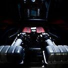 Ferrari 360F1 Spider Engine Bay by Dave Reid