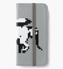 Elephant Bomber Pixel Art iPhone Wallet/Case/Skin