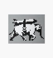 Elephant Bomber Pixel Art Art Board