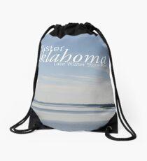 Lake Wister State Park Drawstring Bag