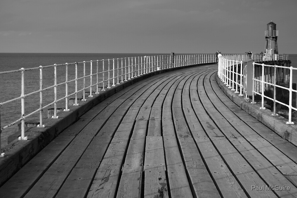 Whitby Pier by Paul McGuire