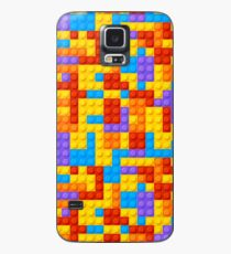 Bight and Colorful Nostalgic Building Blocks  Case/Skin for Samsung Galaxy